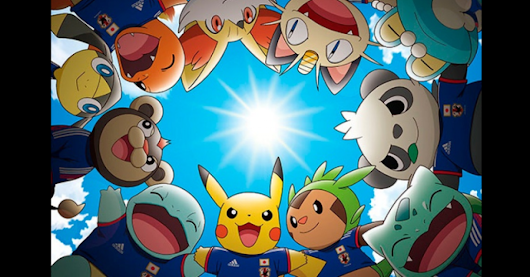 Pikachu Will be Japan's Official Mascot For 2014 Soccer World Cup