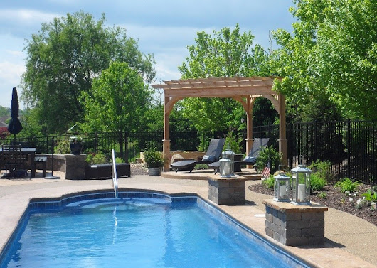 5 Ideas for an Outdoor Living Space Around a Pool - Fifthroom Living