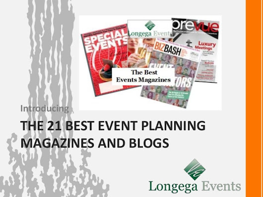 The 21 Best Event Planning Magazines and Blogs