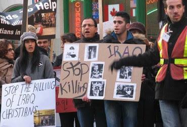 """""""Hagyjátok abba az iraki keresztények gyilkolását!"""""""