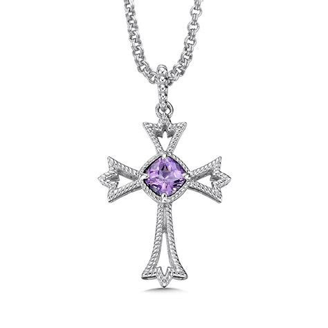 Royal Fine Jewelers: Colore Sg Sterling silver and purple