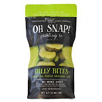 Oh Snap Dilly Bites Snacking Pickle Cuts 3.5oz (PACK OF 12)