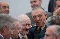 Mondragón y Cienfuegos durante la presentación del gabinete de Peña. Foto: Octavio Gómez