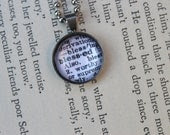 blessed charm necklace on ball chain