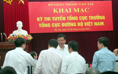 tổng cục trưởng, tổng cục đường bộ, bộ GTVT, bộ trưởng, Đinh La Thăng
