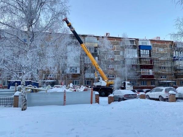 В Сургуте жителям дома без крыши выдадут обогреватели и компенсацию