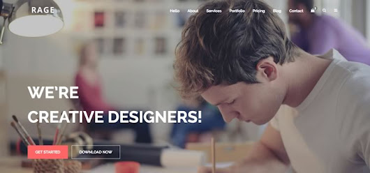 Rage - Digital Agency Free Bootstrap Multipurpose Template - Bootstrap Themes
