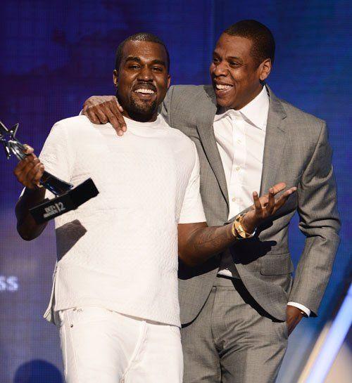 BET Awards - July 1, 2012, Kanye West, Jay-Z