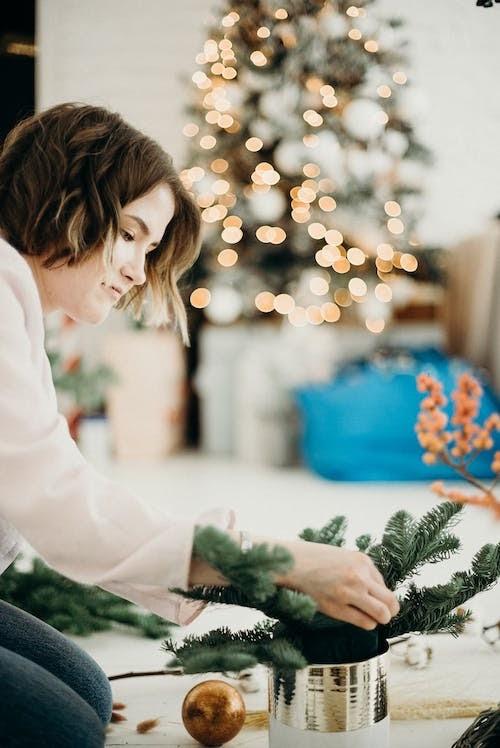 plum christmas tree