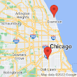 500 Maple Ave, Wilmette, IL 60091 to Chicago Midway International Airport