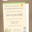 Personalized Photo Invitations | Cmartistry : Baby Looney Tunes Shower Invitations -bslt2