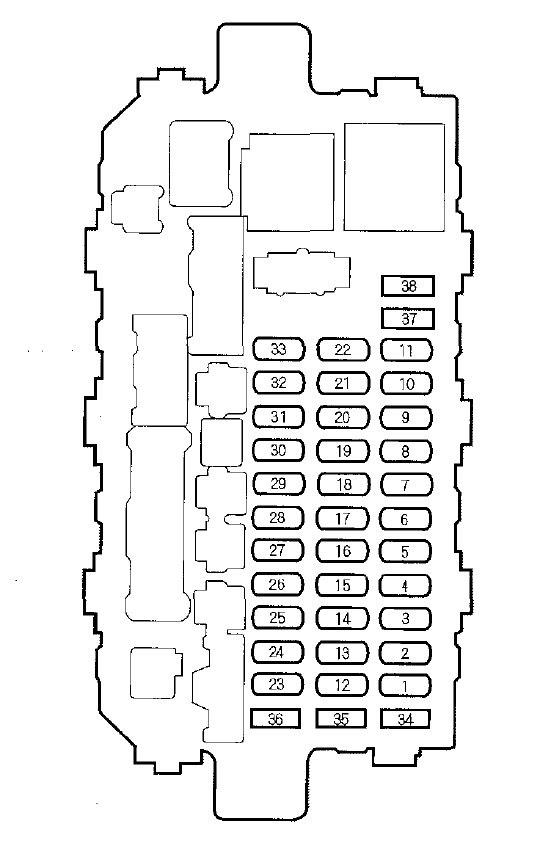 2000 Honda Fuse Diagram Gota Wiring Diagram