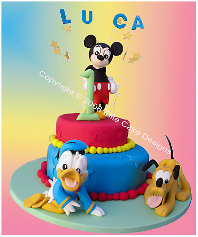Kids Birthday Cake On Cute Cakes Designs