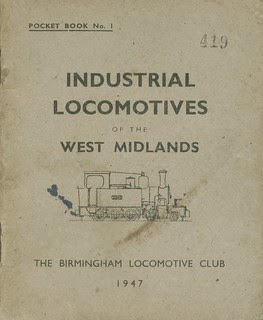 Industrial Locomtives of the West Midlands 1947