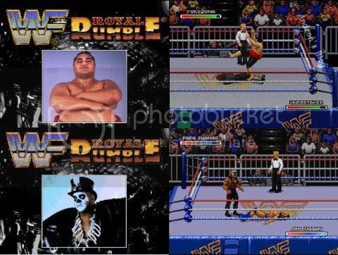 WWF Royal Rumble - Para Snes e Genesis