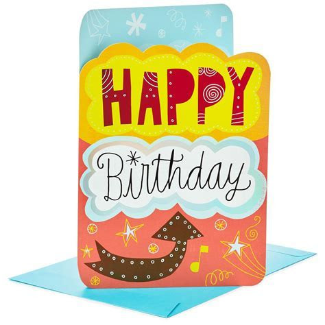 """From All of Us Jumbo Birthday Card, 16""""   Greeting Cards"""