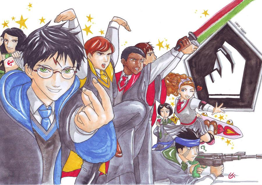Harry Potter Legion caos