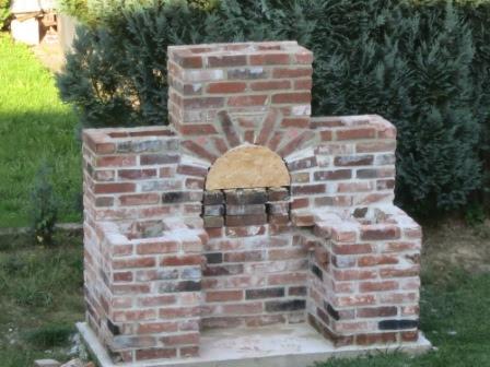 pizzaofen mit grillkamin selber bauen und mauern google. Black Bedroom Furniture Sets. Home Design Ideas