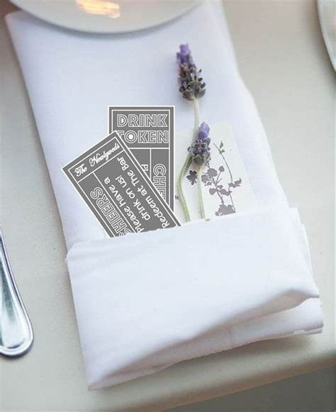 Printable Drinks Token/Tickets   Wedding Reception Drinks