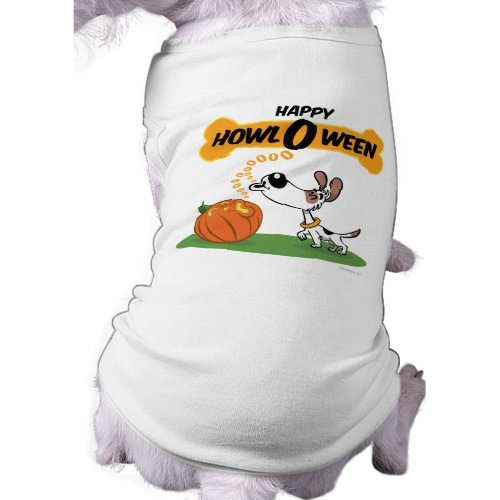 Happy Howl O Ween | Funny Dog T-Shirt