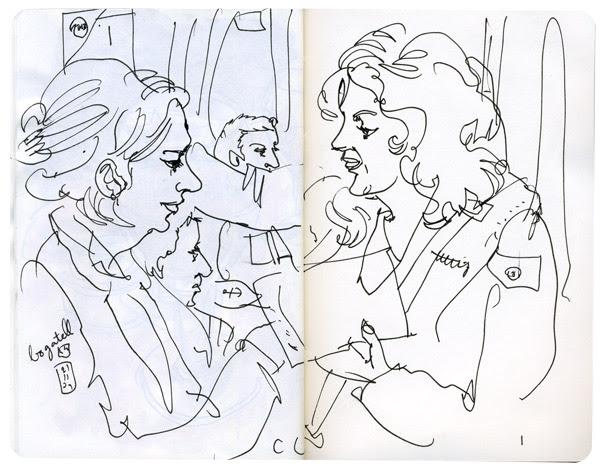 sketchcrawl #25 in barcelona