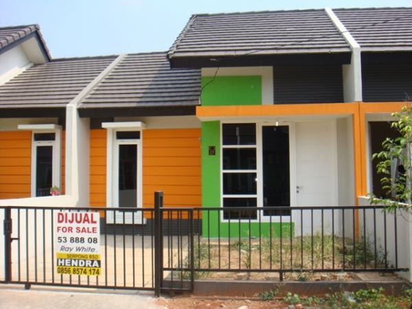 Gambar Rumah Idaman Rumah Idaman Warna Cerah