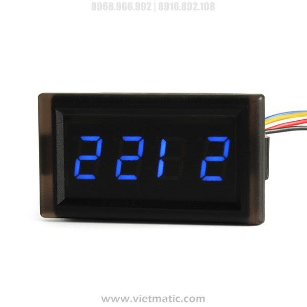 Đồng hồ LED điện tử cho xe máy, ô tô