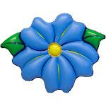 Swimline Inflatable PVC Primrose Flower Relaxation Pool Float, Blue