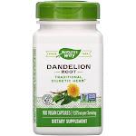 Nature's Way, Dandelion Root, 100 Vegetarian Capsules