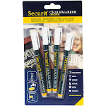 American Metalcraft BLSMA100V4WH Chalk Markers