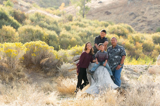 Vibrant Fall Portraits at Mayberry Park by Reno Family Photographer