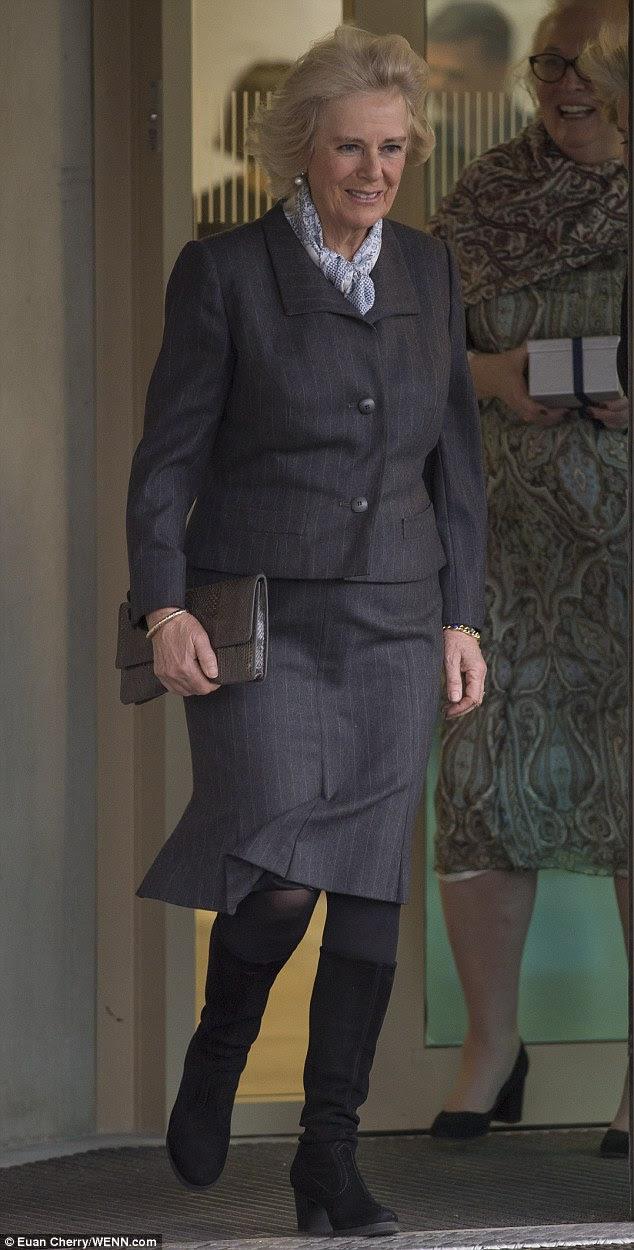 Księżna Camilla w SafeLives / Księżniczka Eugenia w Londynie.