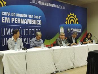 Governo apresentou esquema de mobilidade para dias de jogos da Copa  (Foto: Vitor Tavares / G1)