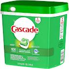Cascade ActionPacs Dishwasher Detergent, Fresh Scent - 85 count, 46.1 oz tub