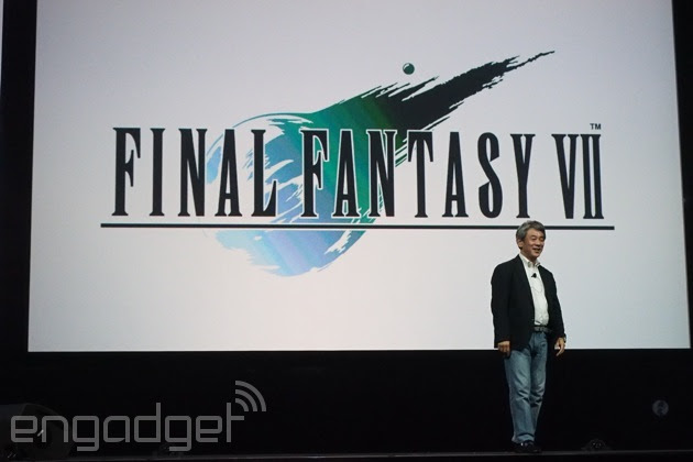 'Final Fantasy VII' llegará en exclusiva a la PS4 en primavera (video)