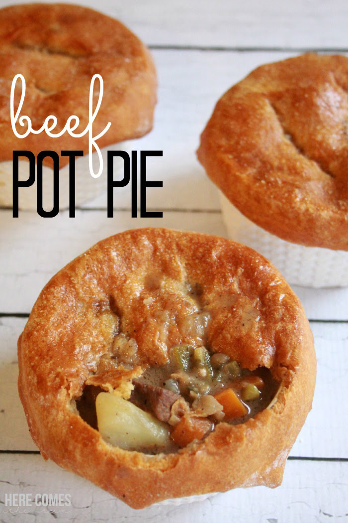 Beef Pot Pie Recipe | Here Comes The Sun