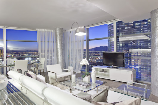 The Multi-Million Dollar Las Vegas Penthouse View! - Las Vegas Penthouses For Sale - The Ultimate Luxury Condo Search