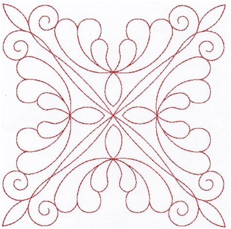 Digitized Double Wedding Ring Quilting Designs Set 4