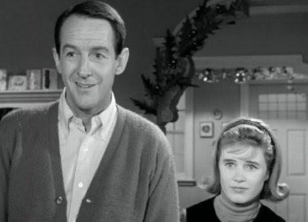 William Schallert and Patty Duke