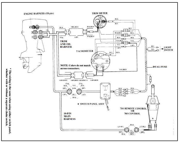 Mercruiser Trim Gauge Wiring Diagram