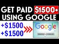 Win $1500 Per Day Using GOOGLE SEARCH! (Win money Online)