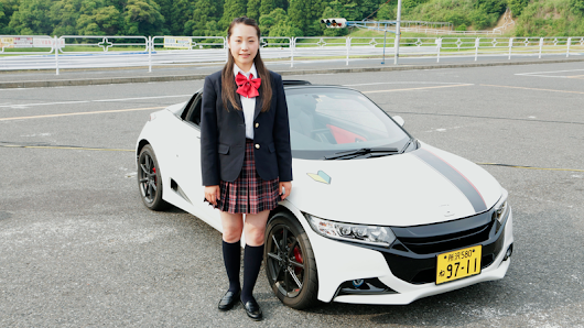 Meet The Honda-Thrashing Japanese Schoolgirl Who Dreams Of Being An F1 Driver