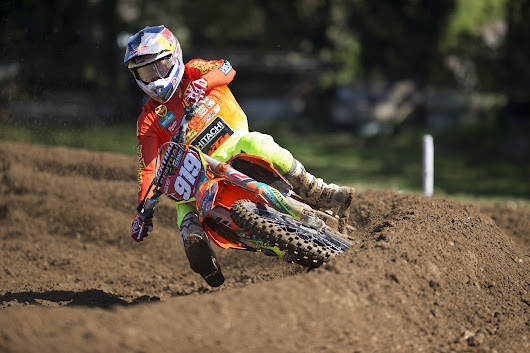 Hitachi KTM Riders Again On The Podium At Round Two Of The British Motocross Championship In Norfolk