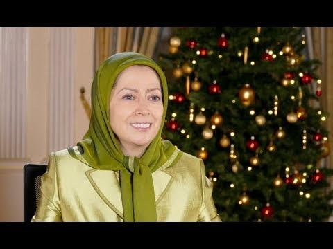 Video: Maryam Rajavi's Message for Christmas and New Year 2018