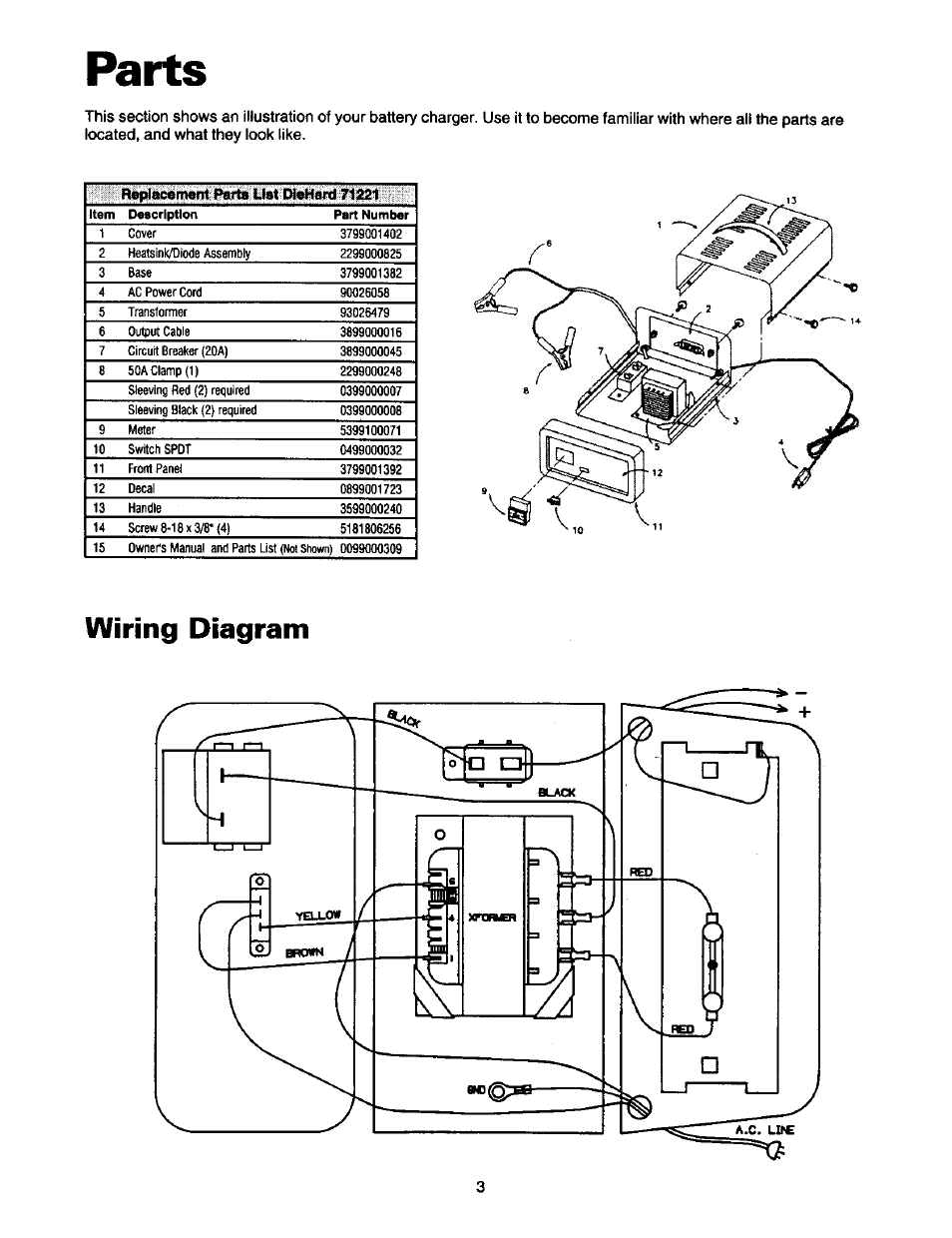 Wiring Diagram Battery Charger - Wiring Diagram