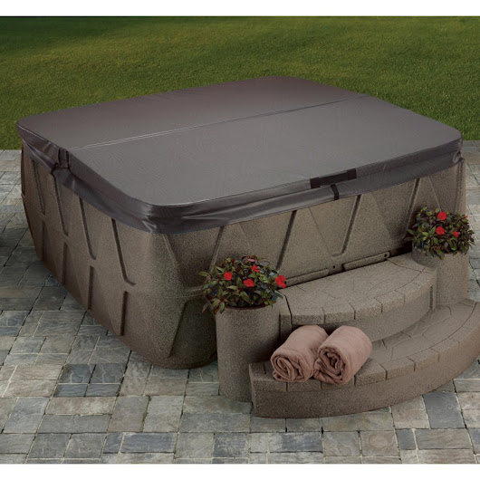 Plug and Play AquaRest 5 Person Hot Tub with 19 Jet