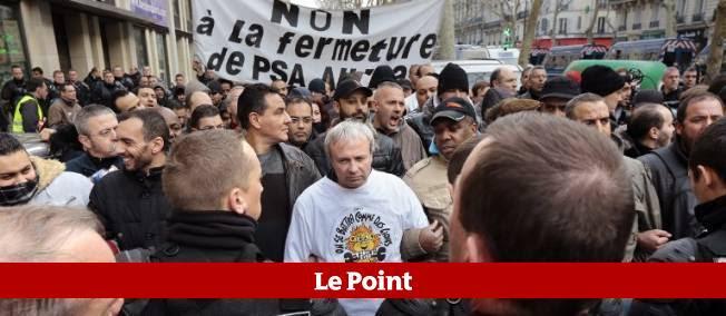 Des salariés de PSA Aulnay envahissent le Medef