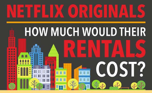 Netflix Originals: How Much Would Their Rentals Cost? [Infographic]
