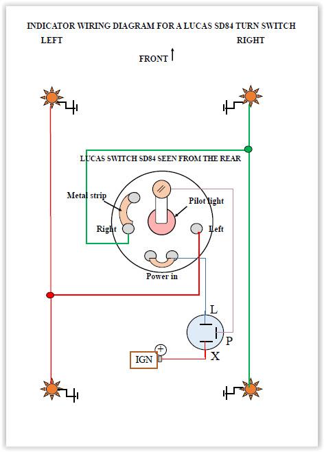 Flasher Relay Wiring Diagram Internal