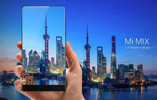 Xiaomi's edgeless Mi Mix smartphone sells out in 10 seconds during flash sale